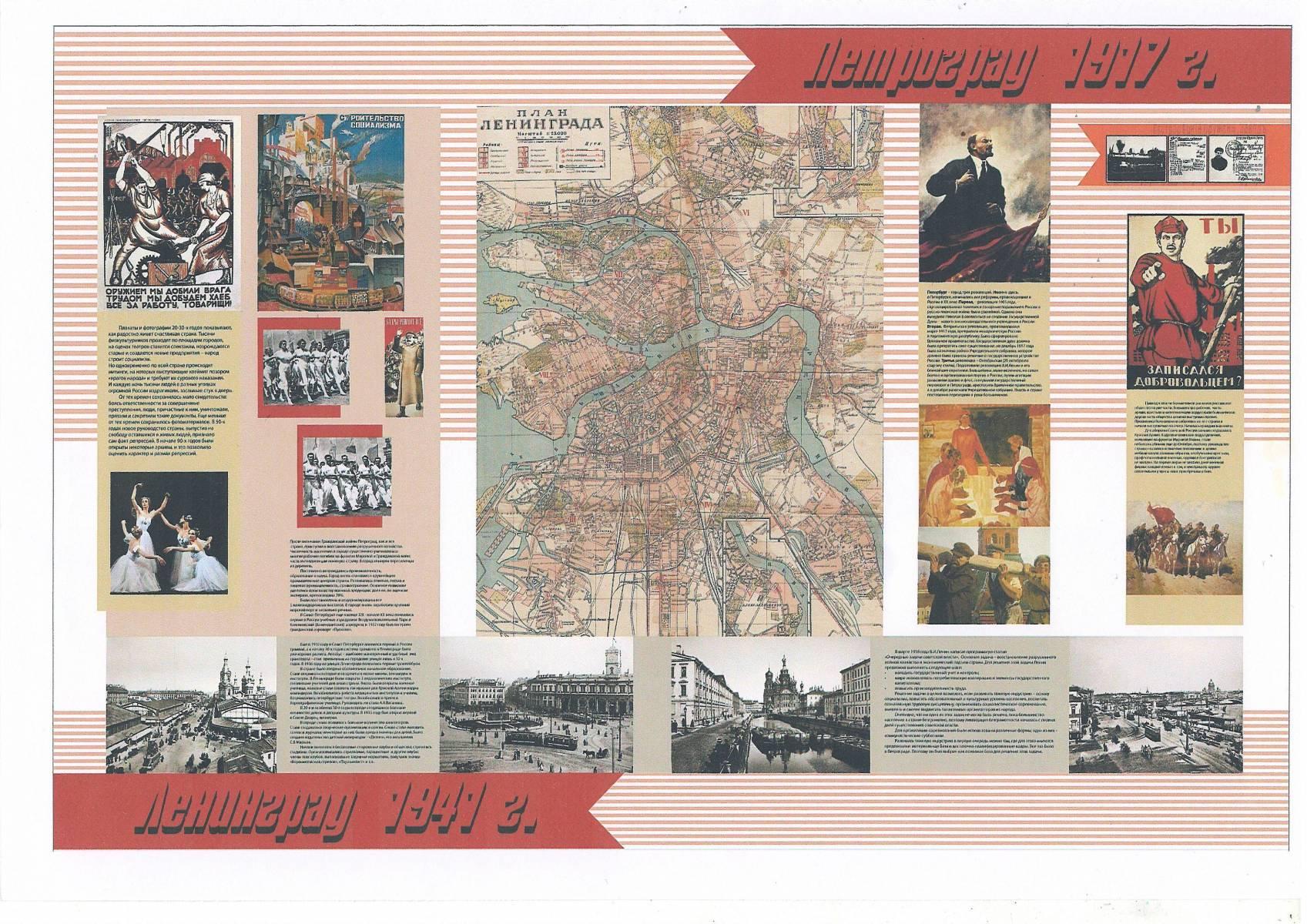 Петроград-Ленинград-1917-1941